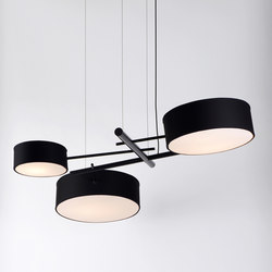 Excel chandelier black | Illuminazione generale | Roll & Hill