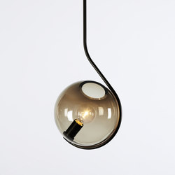 Fiddlehead pendant bronze smoke | General lighting | Roll & Hill
