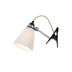 Hector Medium Dome Clip Light, Natural | Klemmleuchten / Regalleuchten | Original BTC Limited