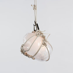Knotty Bubbles pendant large natural opal | Illuminazione generale | Roll & Hill