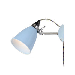 Hector Small Dome Wall Light PSC, Light Blue | Lámparas de lectura | Original BTC