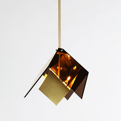 Maxhedron pendant brass | General lighting | Roll & Hill