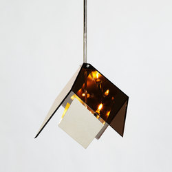 Maxhedron pendant nickel | General lighting | Roll & Hill