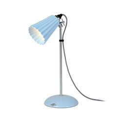 Hector Small Pleat Table Light, Light Blue | Lampade da lettura | Original BTC Limited