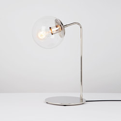 Modo desk lamp nickel clear | Table lights | Roll & Hill