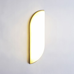 Odds & Ends aquafresh brass cream | Suspended lights | Roll & Hill