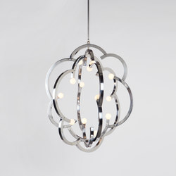 Blow Pendant (Polished nickel) | Lámparas de suspensión | Roll & Hill