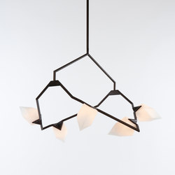 Seed 02 (Oil-rubbed bronze/White) | Suspended lights | Roll & Hill