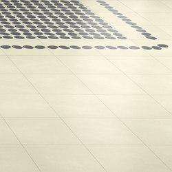 Navone Curva | Linea | Pieno white | Concrete/cement floor tiles | Bisazza