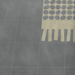 Navone Fringe Light | Pieno Light | Macadam | Concrete/cement floor tiles | Bisazza