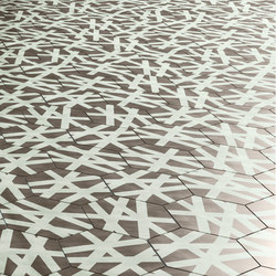 Navone Wire Shadow | Concrete/cement floor tiles | Bisazza