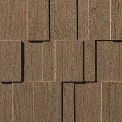 Bord Cinnamon Mosaico Row 3D | Azulejos de mosaicos | Atlas Concorde