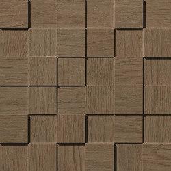 Bord Cinnamon Mosaico Square 3D | Azulejos de mosaicos | Atlas Concorde
