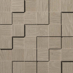 Bord Cumin Mosaico Square 3D | Azulejos de mosaicos | Atlas Concorde