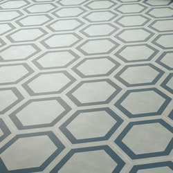 Dal Bianco Honey Bismarck | Concrete tiles | Bisazza