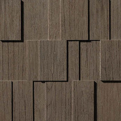 Bord Nutmeg Mosaico Row 3D | Mosaic tiles | Atlas Concorde