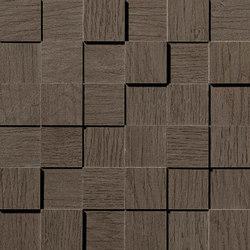 Bord Nutmeg Mosaico Square 3D | Azulejos de mosaicos | Atlas Concorde
