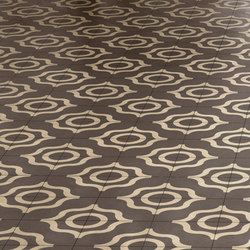 Dal Bianco Karl Tortora | Concrete/cement floor tiles | Bisazza