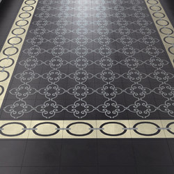 I Fregi Necklace Seattle (A+B) | Concrete/cement floor tiles | Bisazza