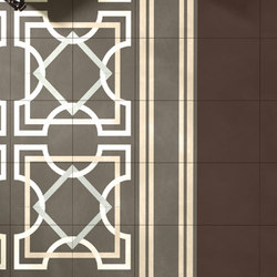 I Fregi Inside Tortora (A+B) | Pavimenti in calcestruzzo/cemento | Bisazza