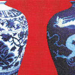 Blue Vases | Mosaïques | Bisazza