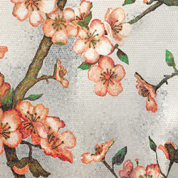Peachtree | Glass mosaics | Bisazza