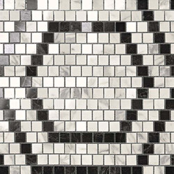 Marvel PRO Mosaico Honeycomb Cold shiny | Ceramic mosaics | Atlas Concorde