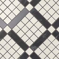 Marvel PRO Cremo Delicato Mix Diagonal Mosaic shiny | Mosaicos de cerámica | Atlas Concorde