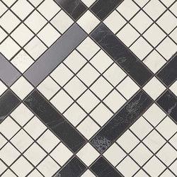 Marvel PRO Cremo Delicato Mix Diagonal Mosaic shiny | Mosaïques céramique | Atlas Concorde