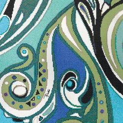 Emilio Pucci Pizzo Blue | Mosaici vetro | Bisazza