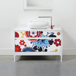 The Wanders Collection I Drawer unit Quadro | Vanity units | Bisazza