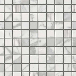 Marvel Pro Statuario Select Mosaic | Ceramic mosaics | Atlas Concorde