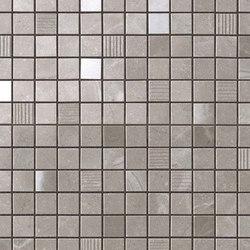 Marvel PRO Grey Fleury Mosaico | Mosaïques céramique | Atlas Concorde