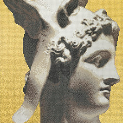 Canova Oro Perseo Oro | Glass mosaics | Bisazza