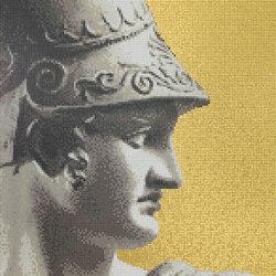 Canova Oro Ettore Oro | Glas Mosaike | Bisazza