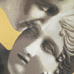 Canova Oro Le Grazie Oro | Glass mosaics | Bisazza