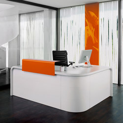 Highline M10 Reception desk | Mostradores de recepción | Müller Möbelfabrikation