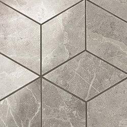Marvel PRO Grey Fleury Mosaico Esagono shiny | Mosaike | Atlas Concorde