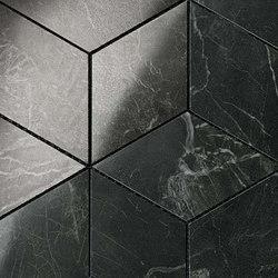 Marvel PRO Noir St. Laurent Mosaico Esagono shiny | Mosaics | Atlas Concorde