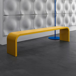 Highline M11 Bench | Bancs d'attente | Müller Möbelfabrikation