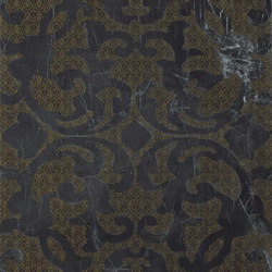 Marvel PRO Noir St. Laurent Brocade | Wall tiles | Atlas Concorde