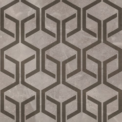 Marvel PRO Grey Fleury Hexagon | Baldosas | Atlas Concorde