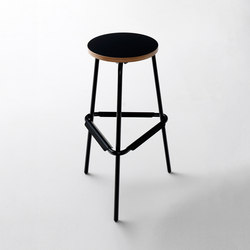 Work@home S82 Bar stool | Tabourets de bar | Müller Möbelfabrikation