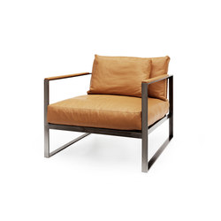 Monaco lounge chair | Poltrone lounge | Röshults