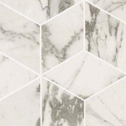 Marvel PRO Statuario Select Mosaico Esagono | Ceramic mosaics | Atlas Concorde