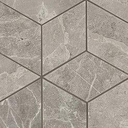 Marvel PRO Grey Fleury Mosaico Esagono | Mosaici ceramica | Atlas Concorde