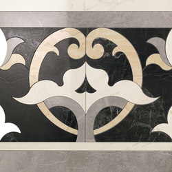 Marvel PRO Elegance Fascia Dark shiny | Ceramic mosaics | Atlas Concorde