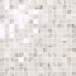 Marvel PRO Statuario Select Mosaic shiny | Ceramic mosaics | Atlas Concorde