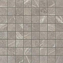 Marvel PRO Grey Fleury Mosaico | Mosaicos de cerámica | Atlas Concorde