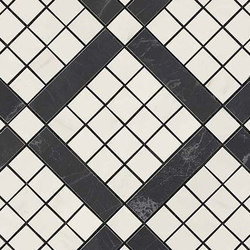 Marvel PRO Cremo Delicato Mix Diagonal Mosaic | Mosaicos de cerámica | Atlas Concorde